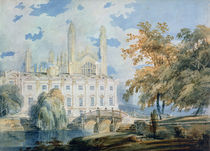 Clare Hall and the West End of King's College Chapel by Joseph Mallord William Turner