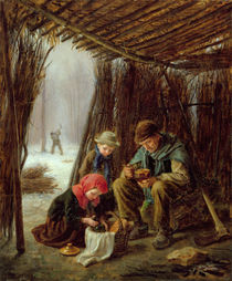 The Woodcutter's Meal, 1873 by Pierre Edouard Frere