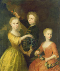 The Children of Councillor Barthold Heinrich Brockes by Balthasar Denner