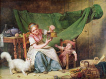The Woman and the Mouse, c.1798 by Martin Drolling