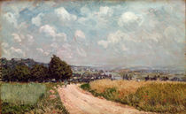 Turning Road or, View of the Seine von Alfred Sisley