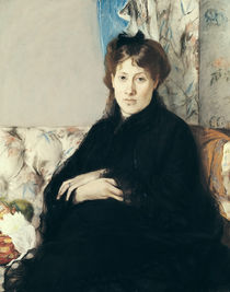 Portrait of Madame Edma Pontillon 1871 von Berthe Morisot