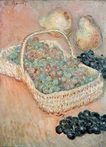The Basket of Grapes, 1884 von Claude Monet