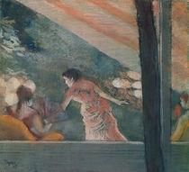Cafe Concert at the Ambassadeurs von Edgar Degas