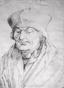 Portrait of Desiderius Erasmus 1520 by Albrecht Dürer