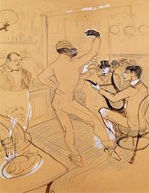 Chocolat Dancing, 1896 by Henri de Toulouse-Lautrec