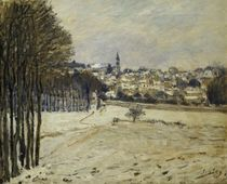 The Snow at Marly-le-Roi, 1875 by Alfred Sisley