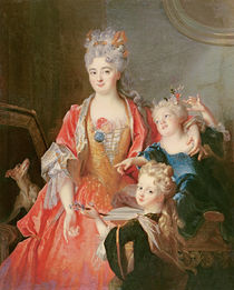 A Woman with Two Children by Nicolas de Largilliere
