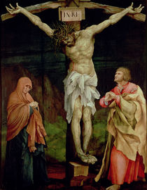 The Crucifixion, c.1525 by Matthias Grunewald