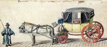 Horse and Carriage, 1825 by Pierre Antoine Lesueur