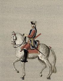 Equestrian portrait of Prince Charles de Beauveau-Craon by Pierre Antoine Lesueur