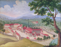 General view of the Abbey from the east by Louise Madelaine Cochin