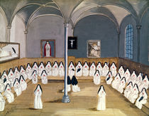 The Sisters of the Abbey from 'L'Abbaye de Port-Royal' by Louise Madelaine Cochin
