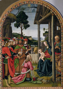 Adoration of the Magi, c.1476 von Pietro Perugino