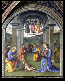 The Adoration of the Shepherds by Pietro Perugino