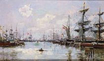 The Port by Edmond Petitjean