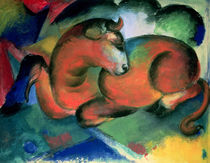The Red Bull, 1912 von Franz Marc