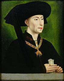 Portrait of Philippe le Bon Duc de Bourgogne von Rogier van der Weyden