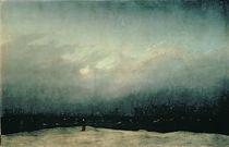 Monk by the Sea, 1808-10 by Caspar David Friedrich