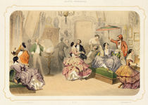 A Punch of Artists, from 'Soirees Parisiennes' by Henri de Montaut
