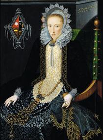 Portrait of Adriana van Nesse von Salomon Mesdach