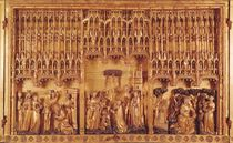 Altarpiece of Saints and Martyrs by Jacques de Baerze or Baers