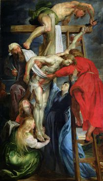 The Descent from the Cross von Peter Paul Rubens