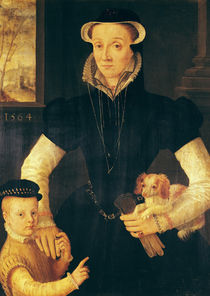 A Widow and her Son, 1564 by Anthonis van Dashorst Mor