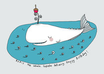 Boris the whale von June Keser
