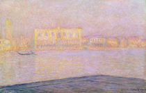 The Ducal Palace from San Giorgio by Claude Monet