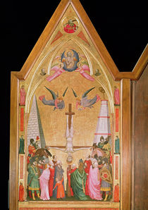 The Crucifixion of St. Peter by Giotto di Bondone
