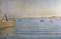 The Harbour at Portrieux, 1888 by Paul Signac