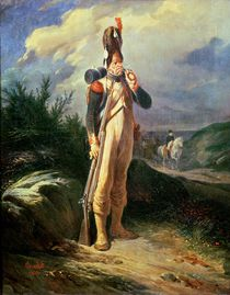 The Grenadier Guard, 1842 by Nicolas Toussaint Charlet