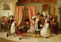 Children acting the 'Play Scene' by Charles Hunt