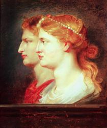 Agrippina and Germanicus, c.1614 von Peter Paul Rubens
