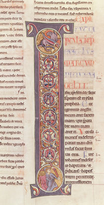 Ms 2 fol.175 t.2 The Gospel of St. Mark by French School