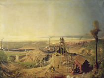Coalmines and Clay Quarries at Montchanin by Ignace Francois Bonhomme