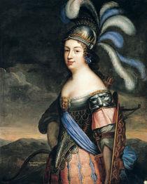 Anne de La Grange-Trianon Countess of Palluau and Frontenac by French School