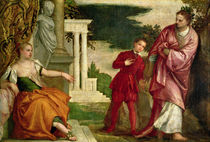 A Young Man Between Virtue and Vice by Veronese