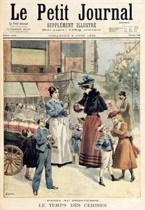The Cherry Season, from 'Le Petit Journal' by French School