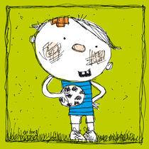 Ein kleiner Fussballer von Evi Gasser