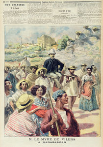 M. le Myre de Vilers in Madagascar von F.L. & Tofani, Oswaldo Meaulle