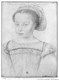 Marguerite de Valois known as La Reine Margot by French School