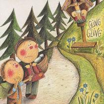 Angst vor einem Ungeheuer by Evi Gasser