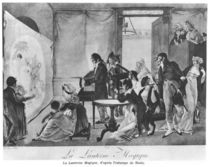 The Magic Lantern, 1798 by Jean Francois Bosio