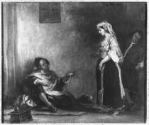 The Arab Merchant von Ferdinand Victor Eugene Delacroix