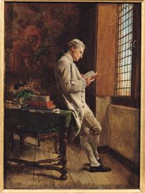 The Reader in White, 1857 by Jean-Louis Ernest Meissonier