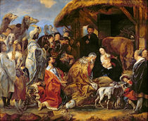 The Adoration of the Magi von Jacob Jordaens