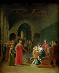 Francois I Presented to Louis XII by Fleury Francois Richard