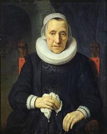 Portrait of an Old Woman, 1651 von Gerbrandt van den Eeckhout